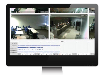 Sample of surveillance interface